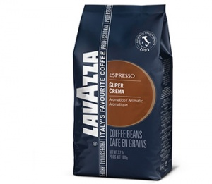 "Зерно ""Lavazza"" Super Crema (Супер Крема) 1000 гр"